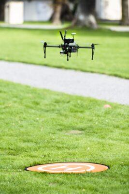 Landing drome